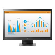 "HP ProDisplay K7X31A8#ABA 23"" LED Monitor, Black"