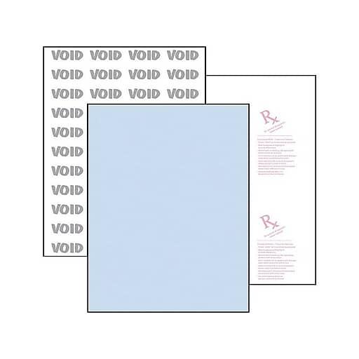 "PRB04545 500 // Ream Docuguard Security Paper Blue 8.50/"" X 11/"" Letter"