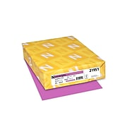"""Astrobrights Cardstock Paper, 65 lbs, 8.5"""" x 11"""", Outrageous Orchid, 250/Pack (21951)"""