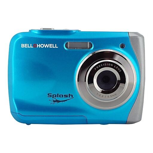 Bell & Howell Splash WP7 12 Megapixels Waterproof Point & Shoot Camera, Blue