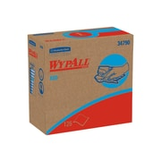 WypAll X60 HYDROKNIT Wipers, White, 126 Wipes/Pack, 10 Packs/Carton (34790)