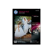 "HP Premium Plus Soft Glossy Photo Paper, 8.5"" x 11"", 50/Pack (CR667A)"