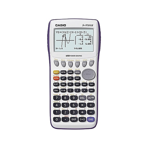 casio fx9750gii guide for algebra 2