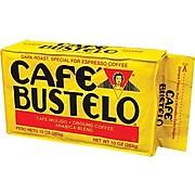 Cafe Bustelo Espresso Ground Coffee, Dark Roast (01720)