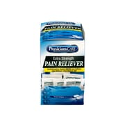 Physicians Care Extra Strength Pain Reliever Tablet, 2/Packet, 50 Packets/Box (90316)