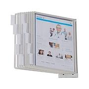 "Durable SHERPA Document Holder, 8.5"" x 11"", Gray Plastic (554110)"