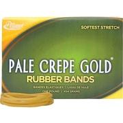 Alliance Pale Crepe Gold Multi-Purpose Rubber Bands, #33, 1 lb. Box, 970/Box (20335)