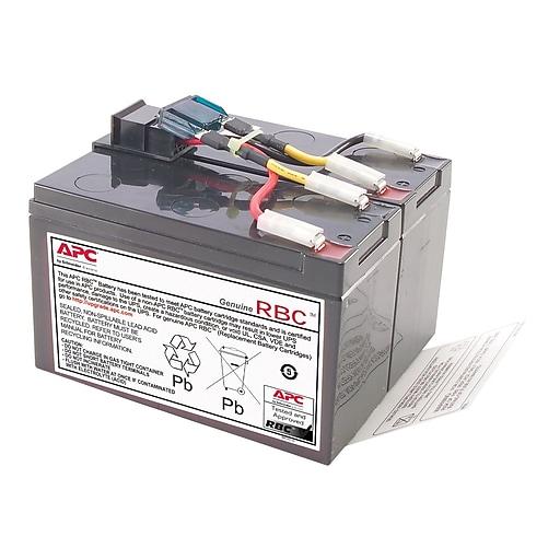 APC Cartridge #48 UPS Replacement Battery, Black (RBC48)