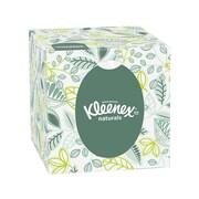 Kleenex Naturals Standard Facial Tissue, 2-Ply, 95 Sheets/Box, 36 Boxes/Pack (21272)