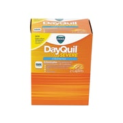Vicks DayQuil Severe Cold & Flu Multi-Symptom Relief Softgel, 25/Box (7892-25X20-SBA)