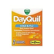Vicks DayQuil Severe Cold & Flu Multi-Symptom Relief Caplets, 25/Box (7892-25X20-SBA)
