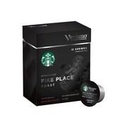 Starbucks Verismo Pike Place Capsule Coffee, Medium Roast, 12/Box (011023608)