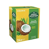Deals on 24-Count Green Mountain Island Coconut Coffee Keurig K-Cup
