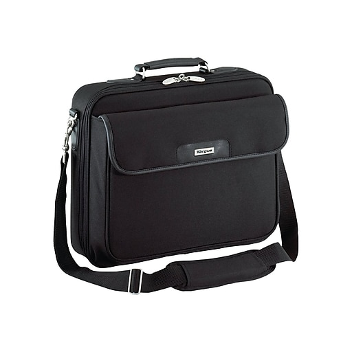 Targus Traditional Notepac Laptop Briefcase, Black Polyester (OCN1)