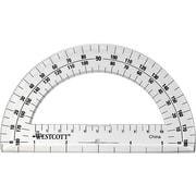 """Westcott 6"""" 180° Protractor (11200-PARENT)"""