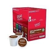 Eight O'Clock Colombian Peaks Coffee, Keurig® K-Cup® Pods, Medium Roast, 24/Box (6407)