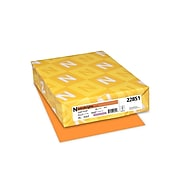 "Astrobrights Cardstock Paper, 65 lbs, 8.5"" x 11"", Cosmic Orange, 250/Pack (22851)"