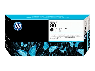 HP 80 DesignJet C4820A Printhead, Black