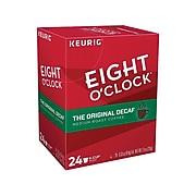 Eight O'Clock Original Blend Decaf Coffee, Keurig® K-Cup® Pods, Medium Roast, 24/Box (06425)