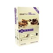 thinkThin High ProteinBars, Variety, 2.1 oz., 15/Pack (220-00555)
