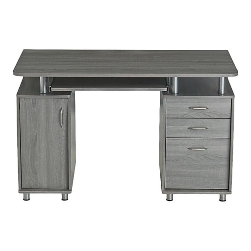 Tremendous Techni Mobili 48 Computer Desk Gray Rta 4985 Gry Download Free Architecture Designs Scobabritishbridgeorg