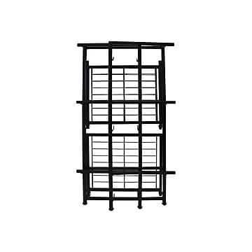 "Advantus FlipShelf 3-Shelf Metal Unit, 14.5""W, Black (37635)"