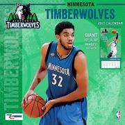 Turner Licensing Minnesota Timberwolves 2017 12X12 Team Wall Calendar (17998011886)