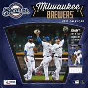 Turner Licensing Milwaukee Brewers 2017 12X12 Team Wall Calendar (17998011854)