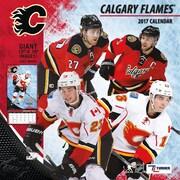 Turner Licensing Calgary Flames 2017 12X12 Team Wall Calendar (17998011934)