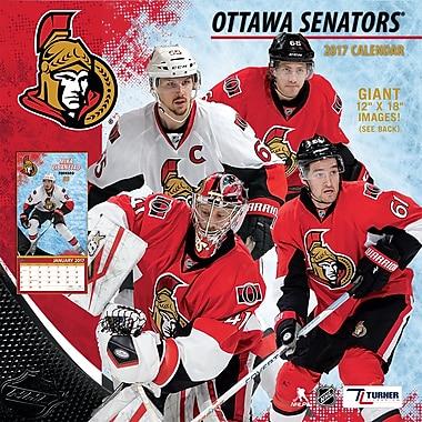 Turner Licensing Ottawa Senators 2017 12X12 Team Wall Calendar (17998011950)