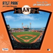 Turner Licensing San Francisco Giants At&T Park 2017 12X12 Wall Calendar (17998011968)