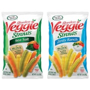 Sensible Portions Garden Veggie Straws Chips, Variety, 1 Oz., 30/Carton (220-00413)