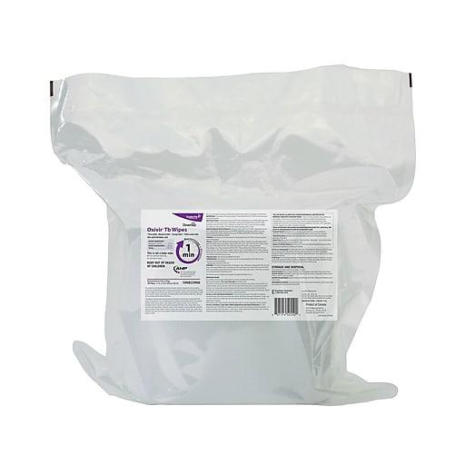 Oxivir Tb Disinfecting Wipes, Fresh Citrus, 160/Box, 4/Carton (100823906)
