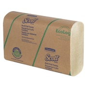 Scott Multifold Paper Towels, 1-Ply, 250 Sheets/Pack, 16 Packs/Carton (43751)