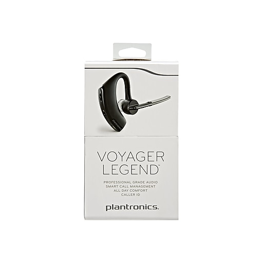 Plantronics Voyager Legend 87300-06 In the Ear Bluetooth Headset, Black