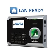 uAttend Cloud-Based Fingerprint Time Clock System, Black (BN6000SC)