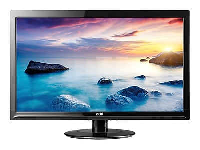 "AOC e2425SWD 24"" LED Monitor, Black"