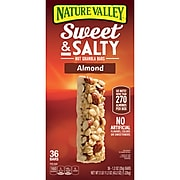 Nature Valley Sweet & Salty Nut Granola Bars, Almond, 1.2oz, 36/Box (GEM10413)