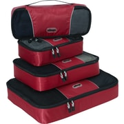 eBags Packing Cubes - 4pc Classic Plus Set Raspberry  (297340)