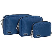 eBags Padded Pouches - 3 pc Set Denim Nylon (105241)