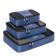 eBags Packing Cubes - 3pc Set Denim Nylon (13032)