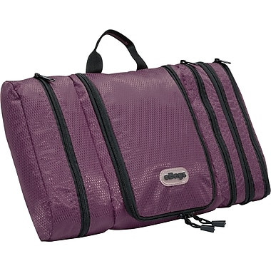eBags Pack-it-Flat Toiletry Kit Eggplant Nylon (54638)