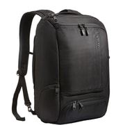 black padded laptop backpack