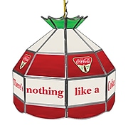Coca Cola 16 Inch Stained Tiffany Lamp - Ice Cold