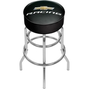 Chevrolet Padded Swivel Bar Stool - Chevy Racing (190836246663)