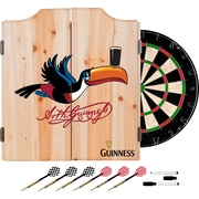 Guinness Dart Cabinet Set with Darts and Board - Toucan (190836335305)