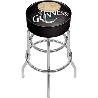 Guinness Padded Swivel Bar Stool - Smiling Pint (190836334926)