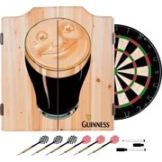 Guinness Dart Cabinet Set with Darts and Board - Smiling Pint (190836335282)
