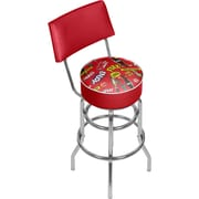 Coca Cola Swivel Bar Stool with Back - Pop Art (190836399284)