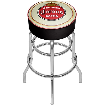 Corona Padded Swivel Bar Stool - Vintage (190836246427)